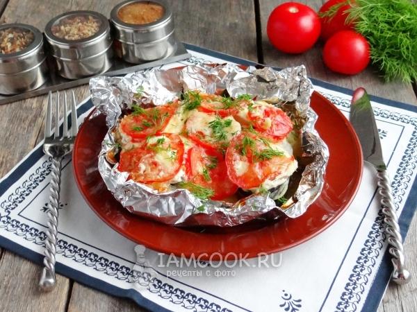 Фото горбуши с картошкой в фольге в духовке