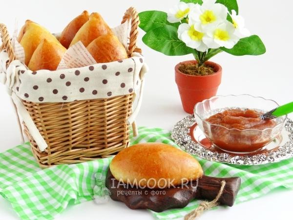 Фото пирожков с повидлом «как пух» в духовке