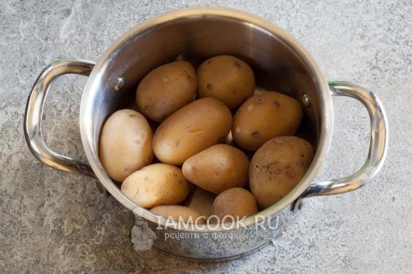 Сварить картофель в мундире