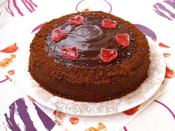 Рецепты Шоколадных Тортов С Фото Пошагово новые фото