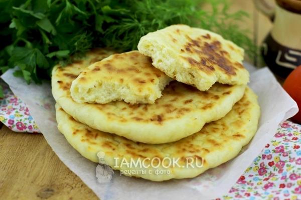 Рецепт сырных лепешек за 5 минут