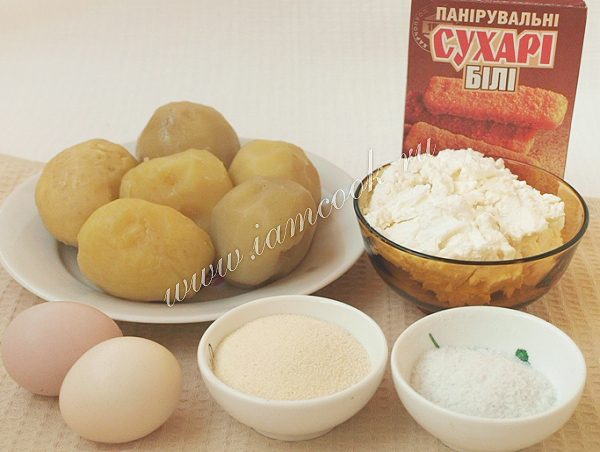 Зразы творожные - пошаговый рецепт с фото на Повар.ру