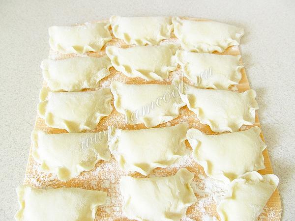 Вареники с соленым творогом — пошаговый рецепт с фото