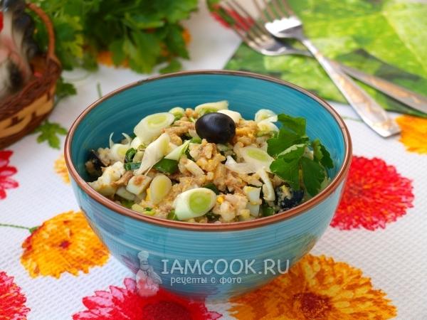 Рецепт салата с тунцом и фасолью рекомендации