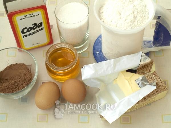 Ингредиенты для торта «Дамский каприз»