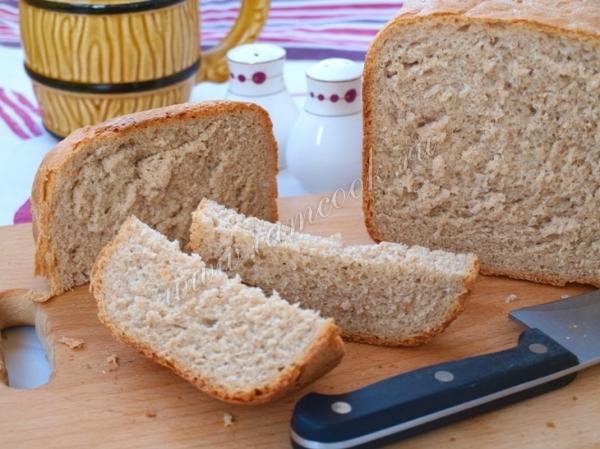 Рецепт дарницкого хлеба в хлебопечке