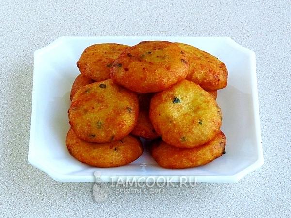Рецепт картофельных пышек
