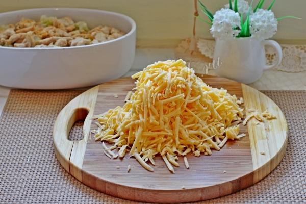 Сыр тертый