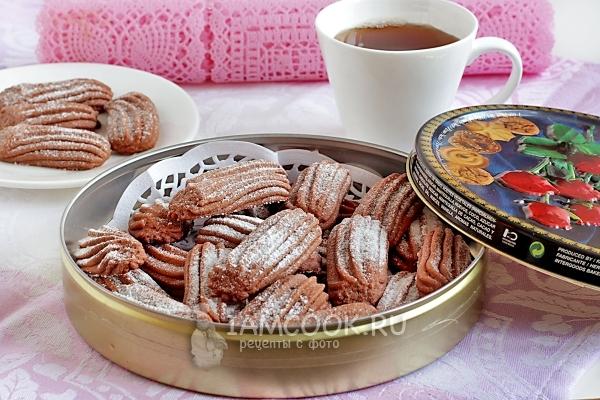 Рецепт Печенья Шоколадное изоражения