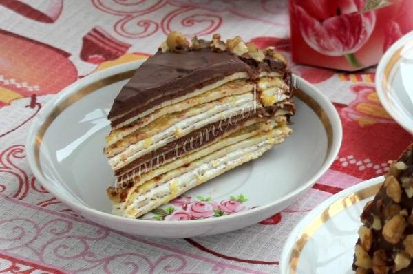 Торт французский крепвиль