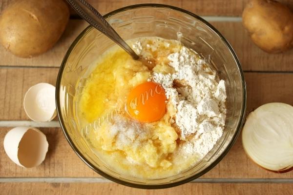 Картофельное тесто для драников