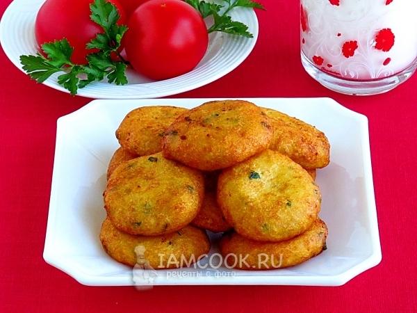 Фото картофельных пышек