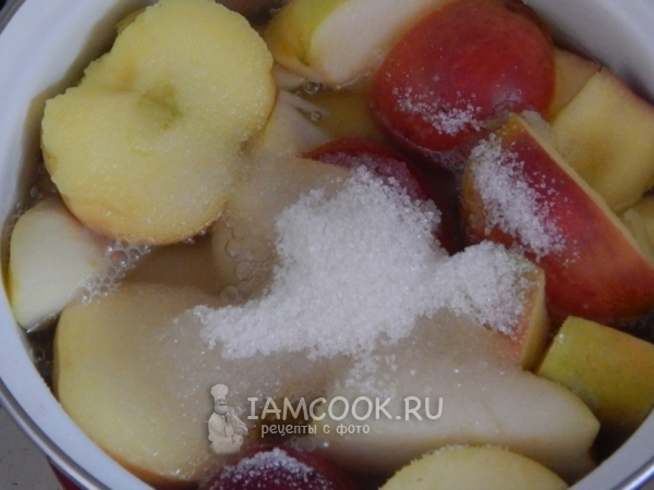 Яблоки в сахаре