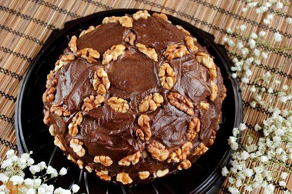 Сметанный торт Черепаха, фото