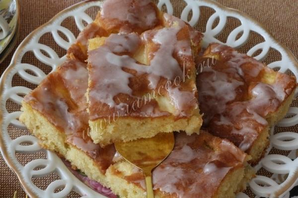 Немецкий яблочный пирог рецепт