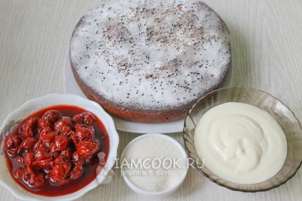 Подготовить продукты для сборки торта