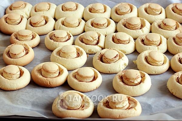 Рецепт печенья «Грибочки»