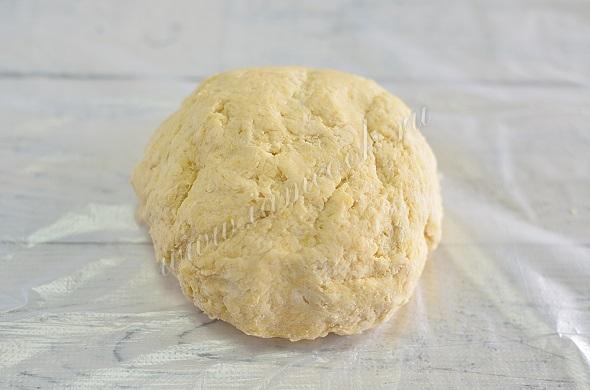 Тесто для открытого пирога