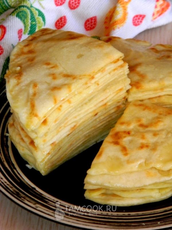 Фото хычинов с сыром и картофелем