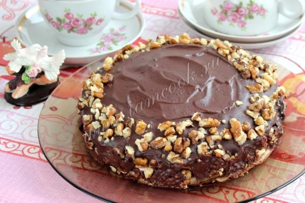 Готовый торт Крепвиль