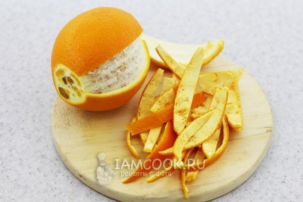 Апельсин и корки