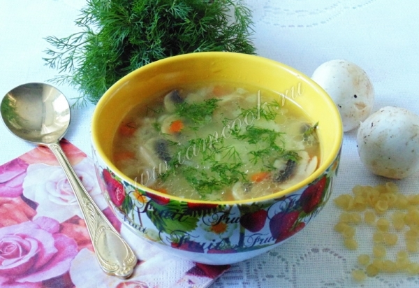 рецепт супа с индейкой