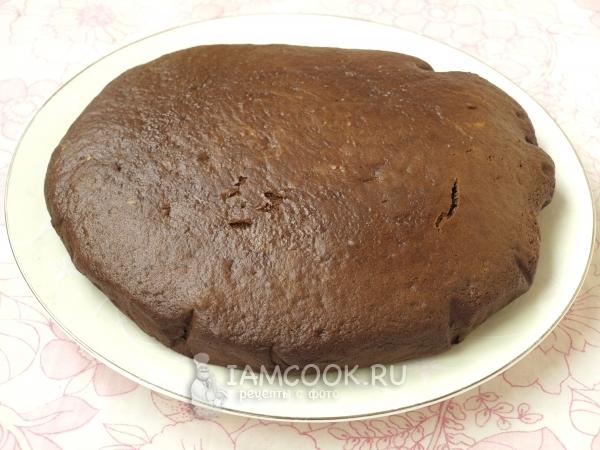 Испечь шоколадный бисквит