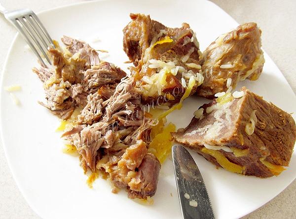Вкусный узбекский плов из говядины