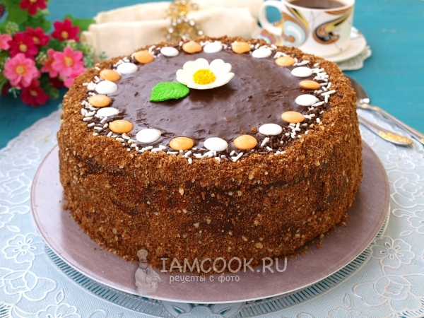 Рецепт торта «Дамский каприз»