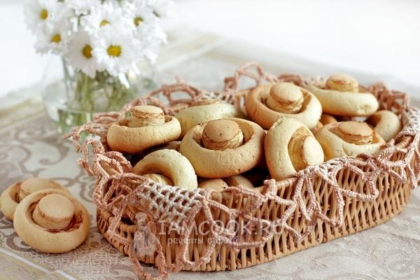 Фото печенья «Грибочки»