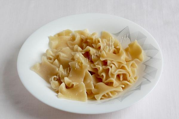 Паста с курицей пошаговый рецепт с фото как приготовить с соусом и сыром