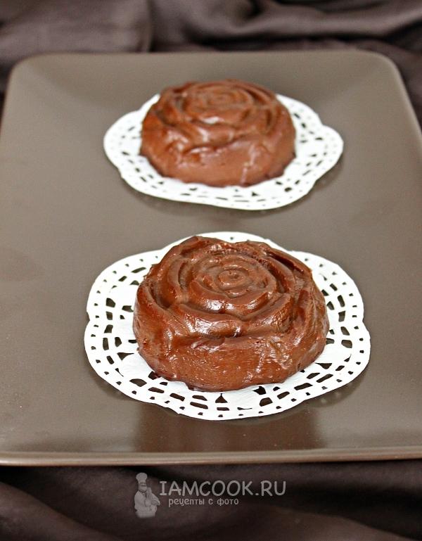 Готовый шоколадный пудинг