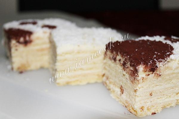Рецепт торта Мишка на севере