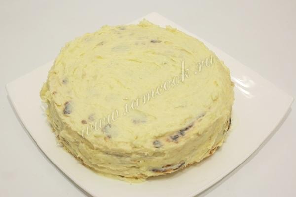 Готовим торт из творога на сковороде