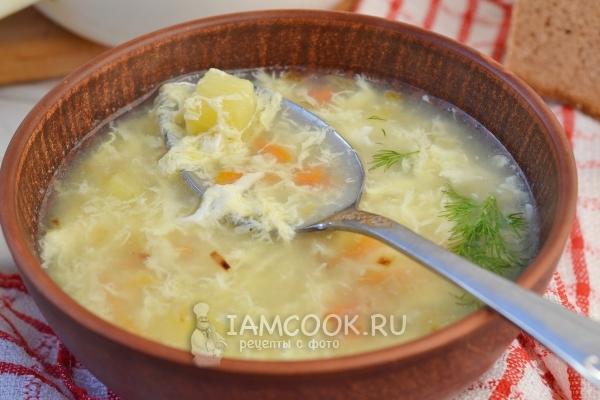 Фото супа с яйцом