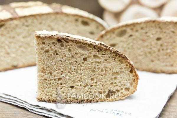 Рецепт хлеба без масла в духовке — 3