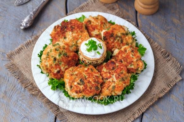 куриные оладьи рецепт с сыром и зеленью