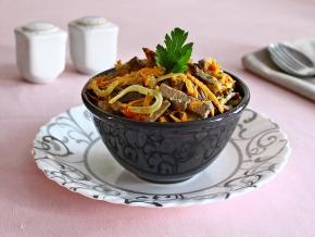 Салат со свининой – 7 потрясающих рецептов с фото | 218x290