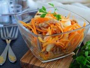 Салат из разного мяса
