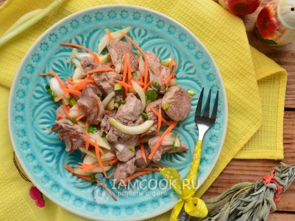 Мясо хе по-корейски рецепт говядина