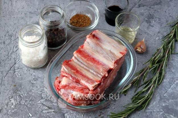 Говяжьи ребрышки рецепт, ребрышки говяжьи в духовке, говядина ... | 416x625