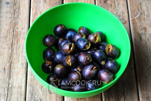 Варенье из чернослива с грецким орехом рецепт