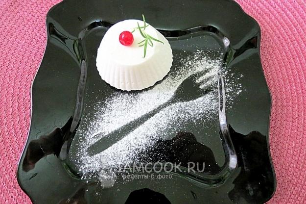 Фото белково-заварного крема с желатином
