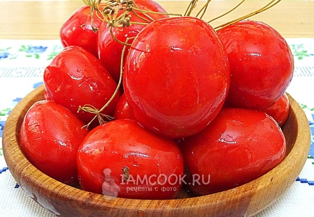 бочковые помидоры в домашних условиях в кастрюле