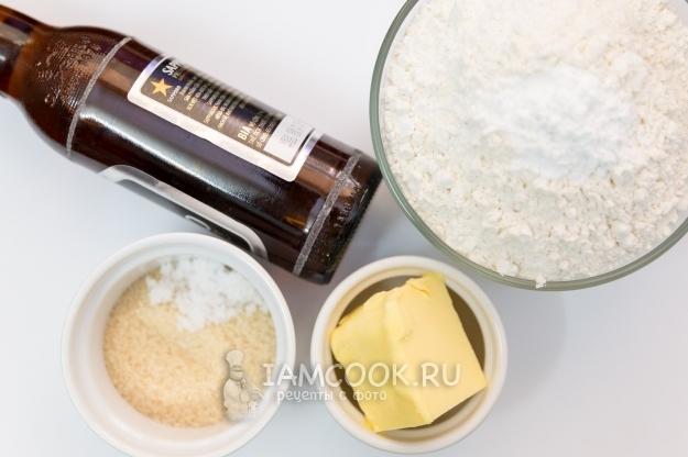 Ингредиенты для хлеба без дрожжей и без закваски в домашних условиях