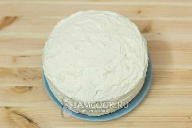 Рецепт торта «Молочная девочка» с творожным кремом