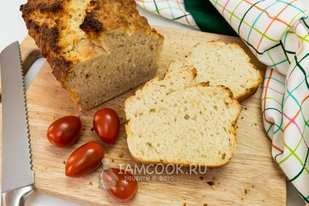 Рецепт хлеба без дрожжей и без закваски в домашних условиях