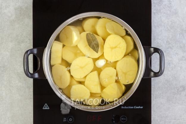 как сделать картошку толченую