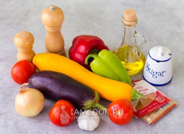 Ингредиенты для Писто Манчего