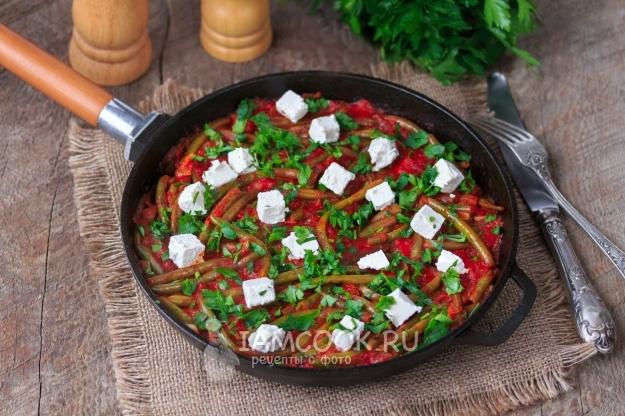 Фото стручковой фасоли в томатном соусе